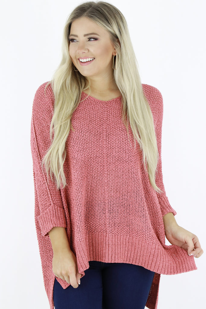 Classy Comfort High Low Sweater