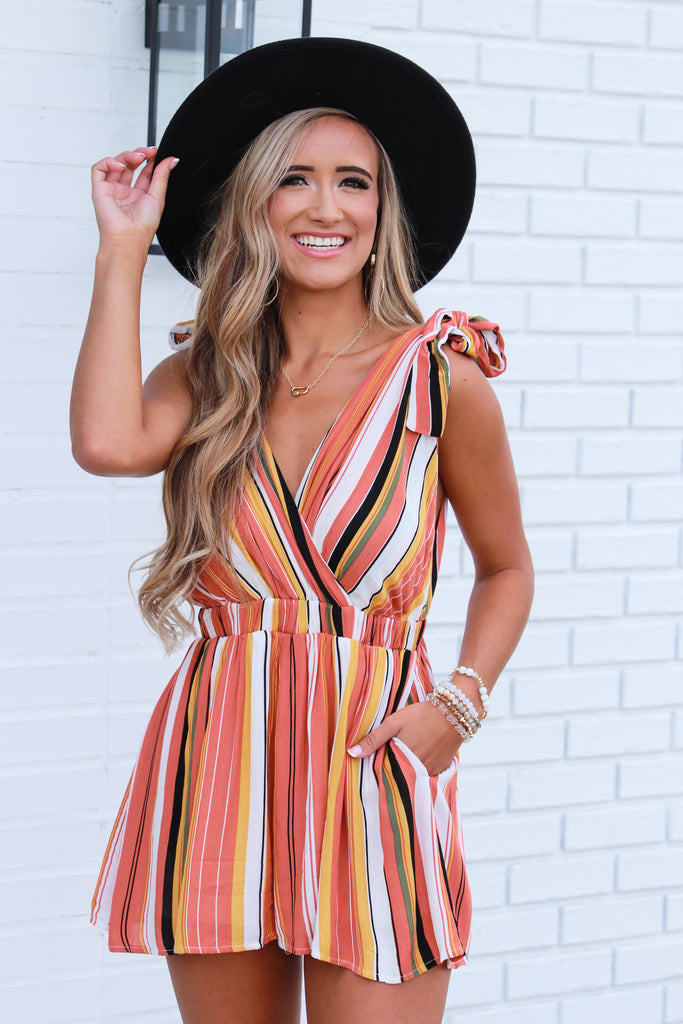 Splash Of Love Romper