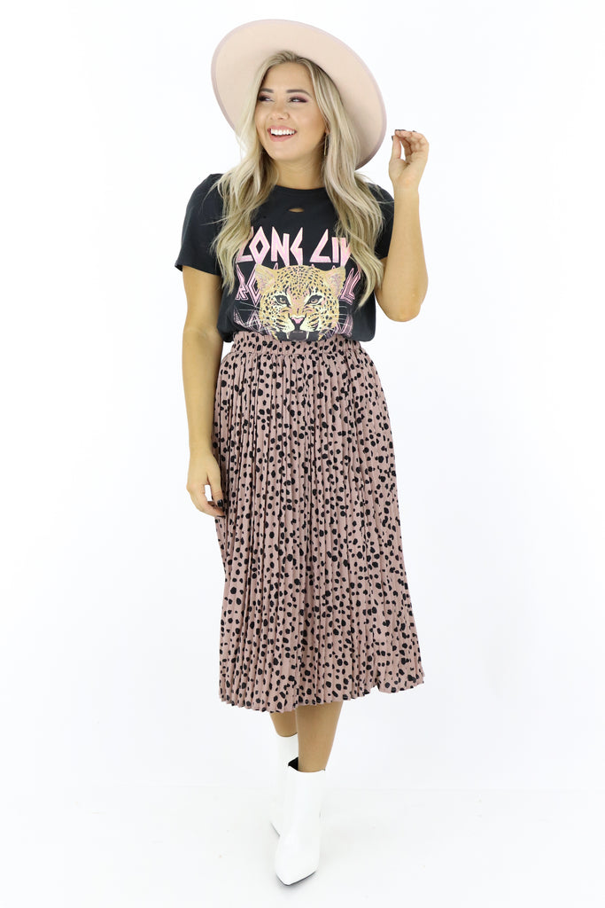 Living For This Midi Skirt