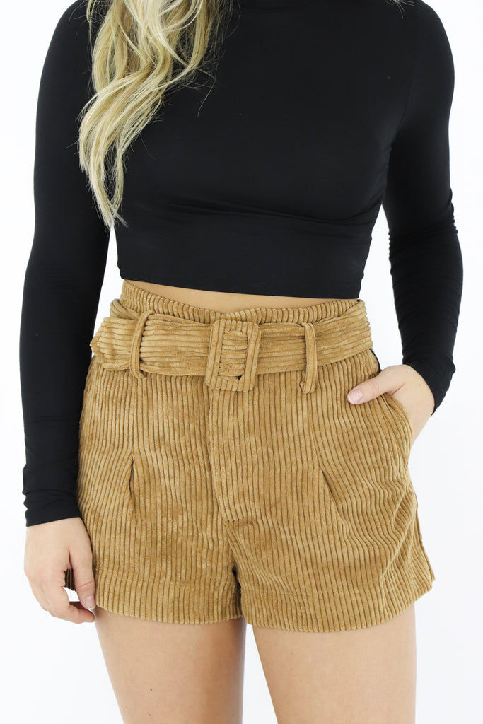 Dreaming Of Fun Corduroy Shorts
