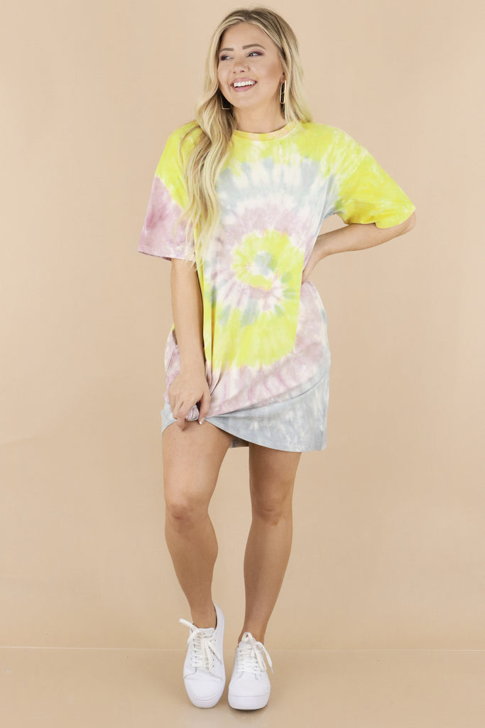I'll Be There Tie Dye Dress