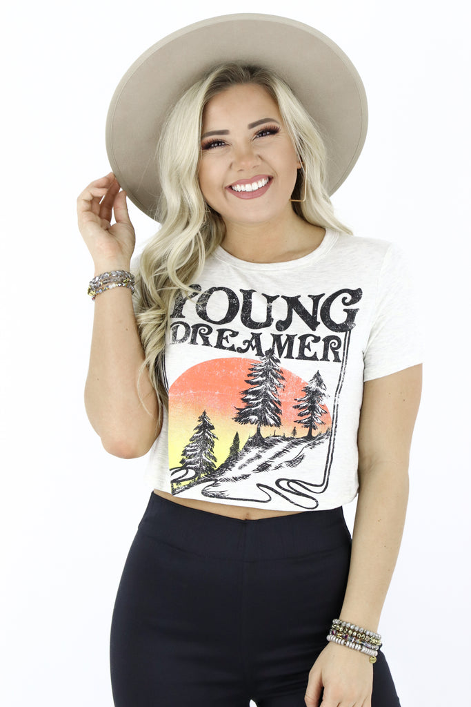 Young Dreamer Crop Top