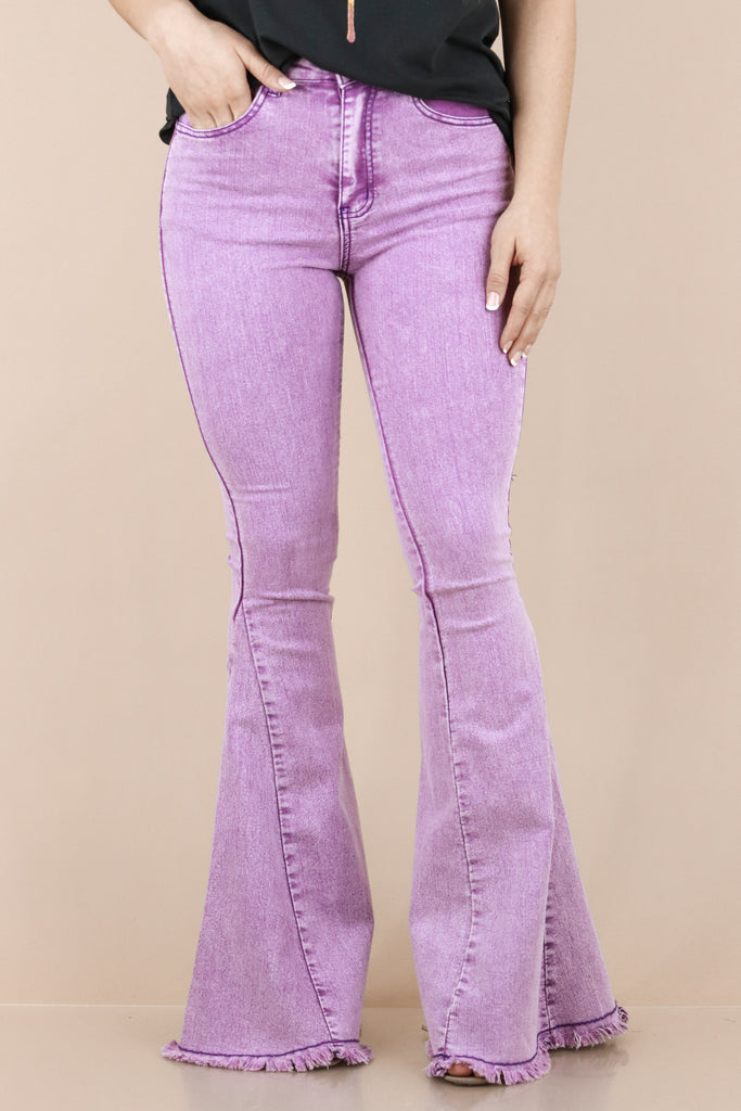 Just For You Flare Denim Jeans