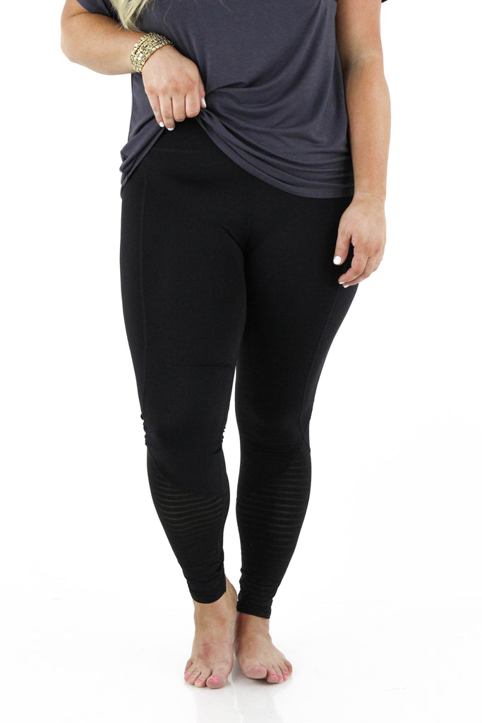 CURVY: The Strength You'll Feel Leggings