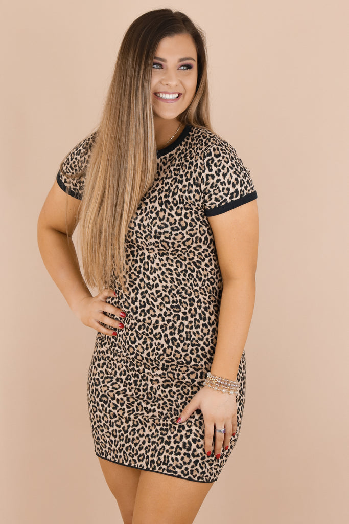 The Endless Possibilities Leopard Dress