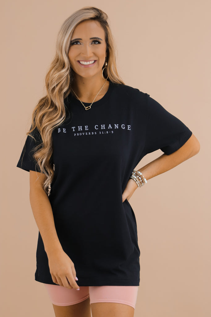Be The Change Graphic Top