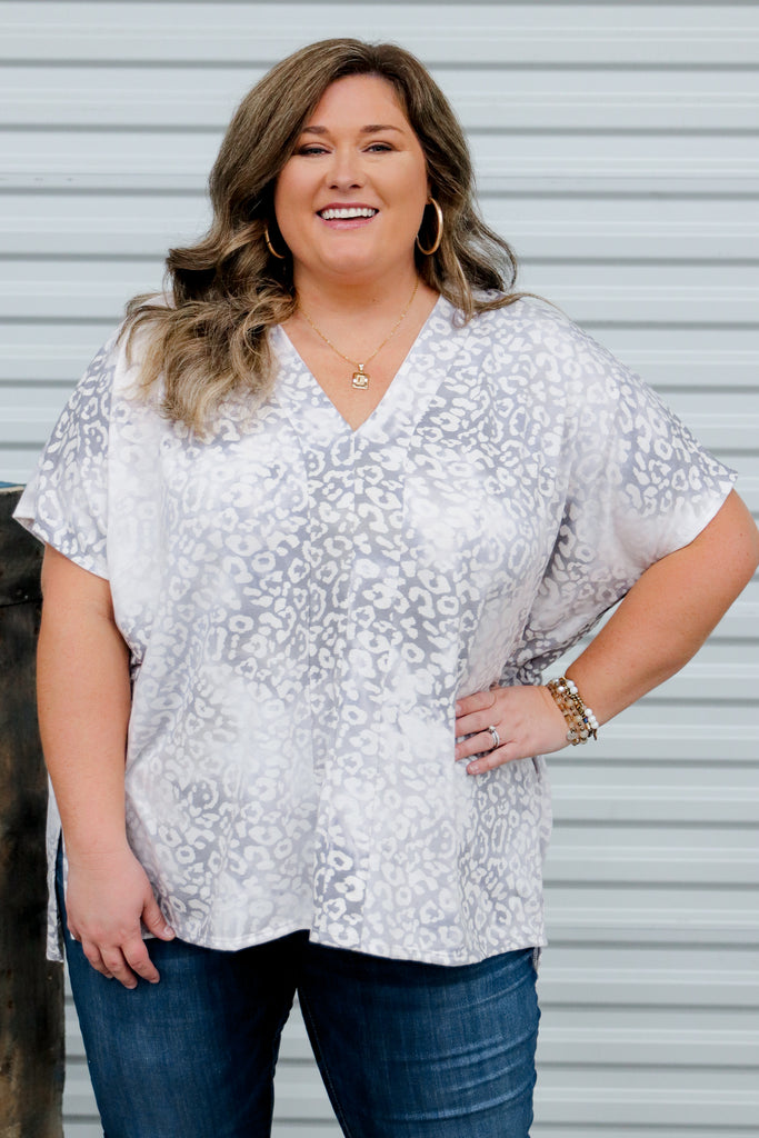 CURVY: Make The Connection Tunic Top