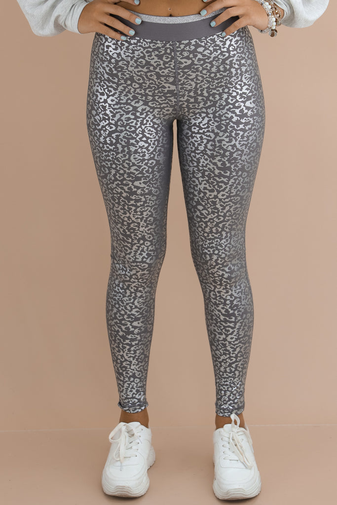 Dancing In The Night Leopard Leggings
