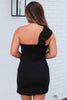 Beat The Heat One Shoulder Dress