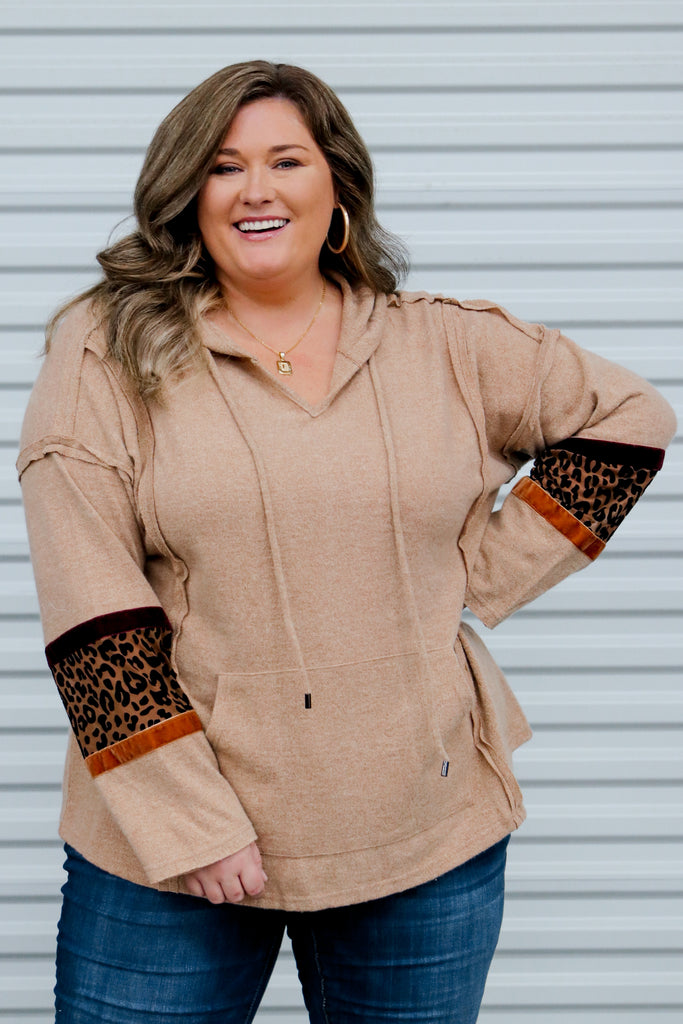 CURVY: All Put Together Hoodie