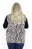 CURVY: All My Ideas Leopard Vest