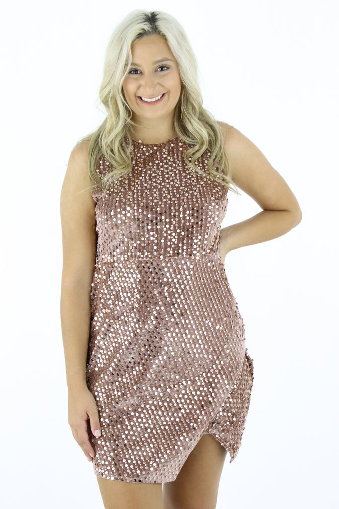 Fine Dining Sequin Dress