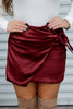 The Truth About Love Satin Skirt