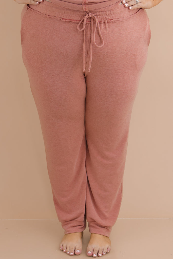 CURVY: Fallen In Love Sweatpants