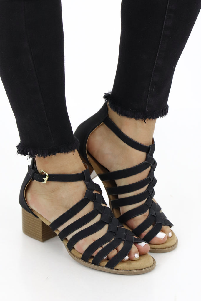 The Need For Patience Strappy Heel