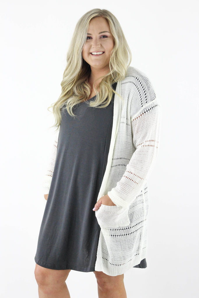 CURVY: Time On My Side Cardigan