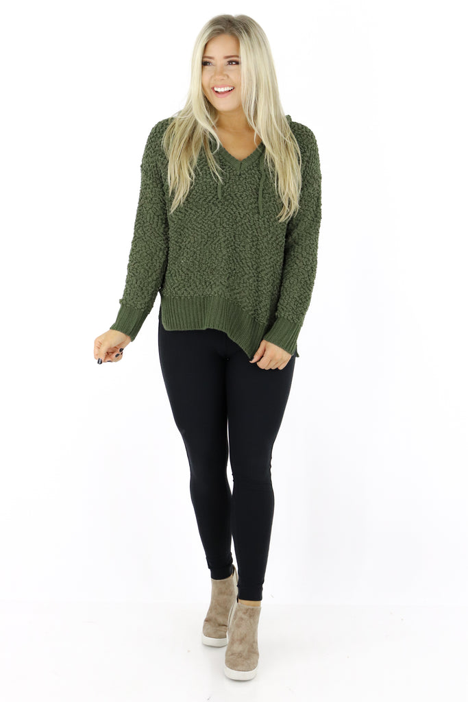 Miles Away Popcorn Pullover