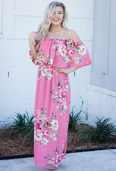 RESTOCK: Loving This Is Easy Floral Print Maxi Dress