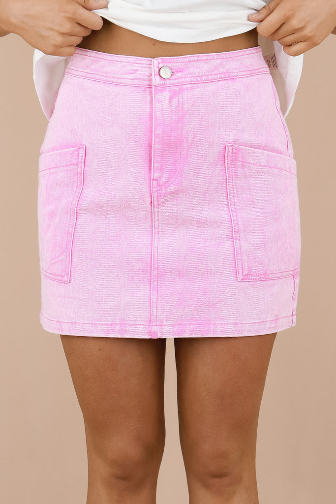 Barbie's World Denim Skirt