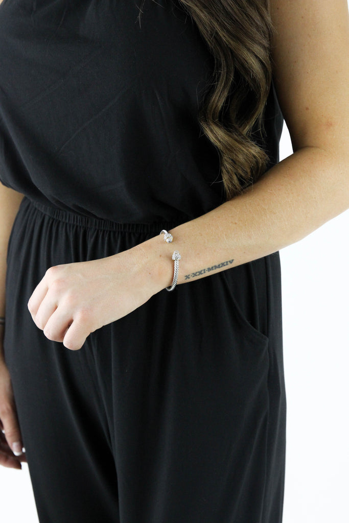 RESTOCK: Dy Inspired Cable Wire Cuff Bangle