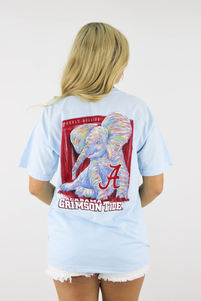 Alabama Watercolor Elephant T-Shirt