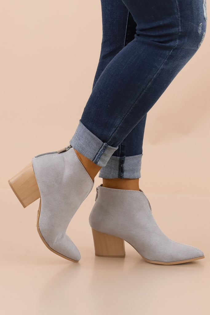 My One And Only Ankle Booties