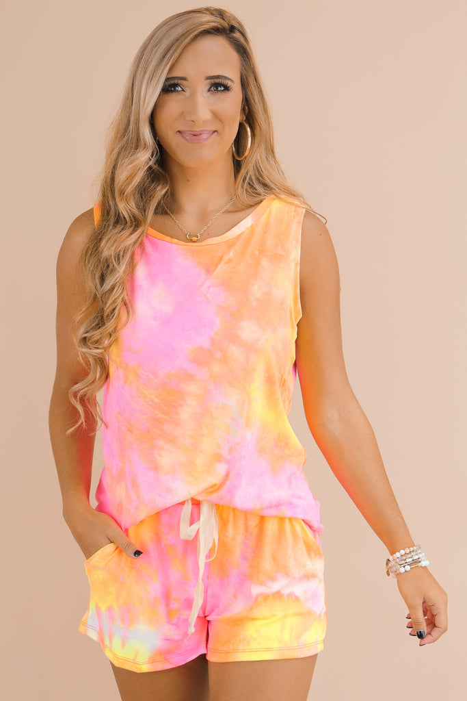Chasing Sunsets Tie Dye Top