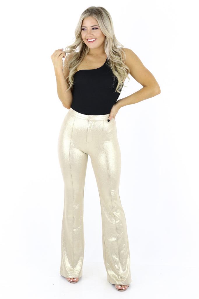 The After Glow Faux Suede Pants