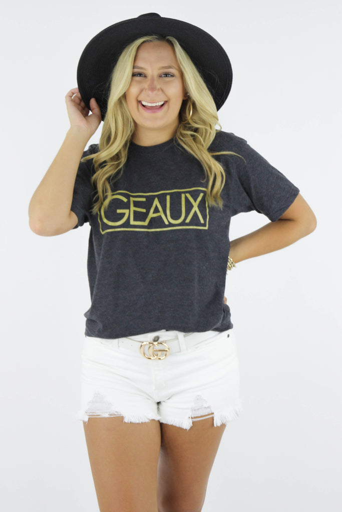 Geaux Graphic Tee