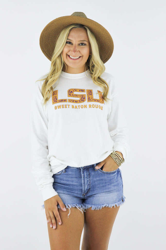 LSU Game Day Graphic Longsleeve