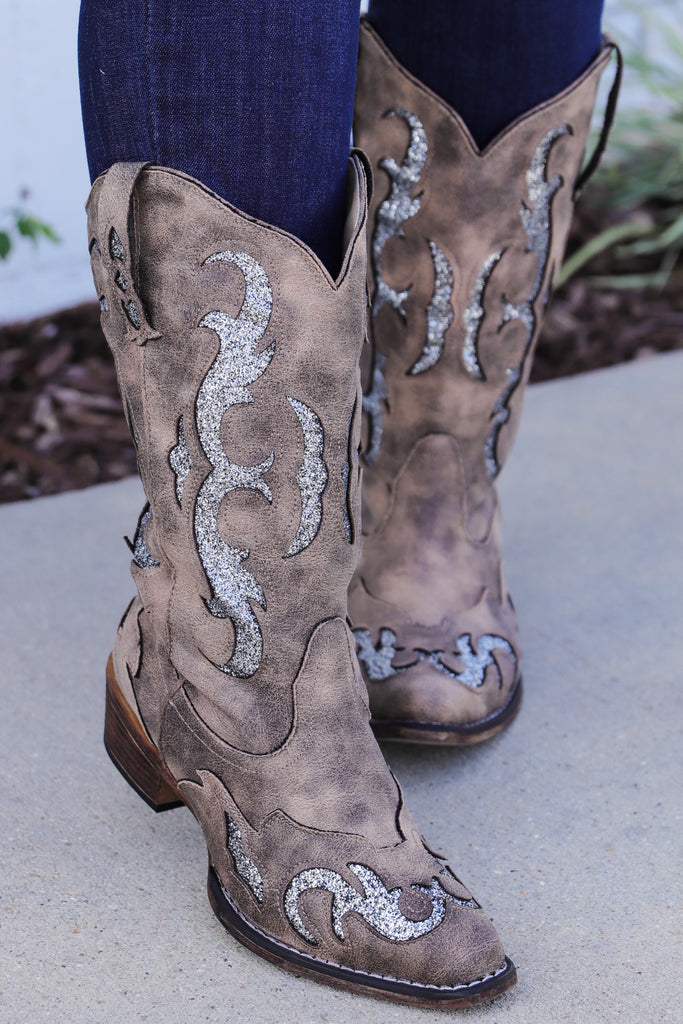 Learned Your Lesson Western Style Boots
