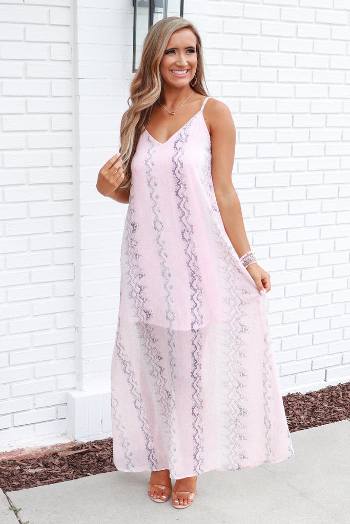 Keep The Vibes Maxi Dress