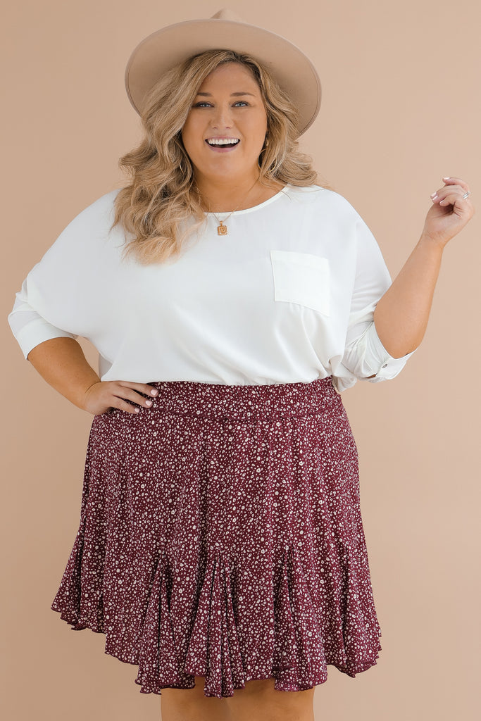 CURVY: Your Last Resort Skirt