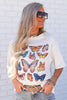 Butterfly Oversized Graphic Top