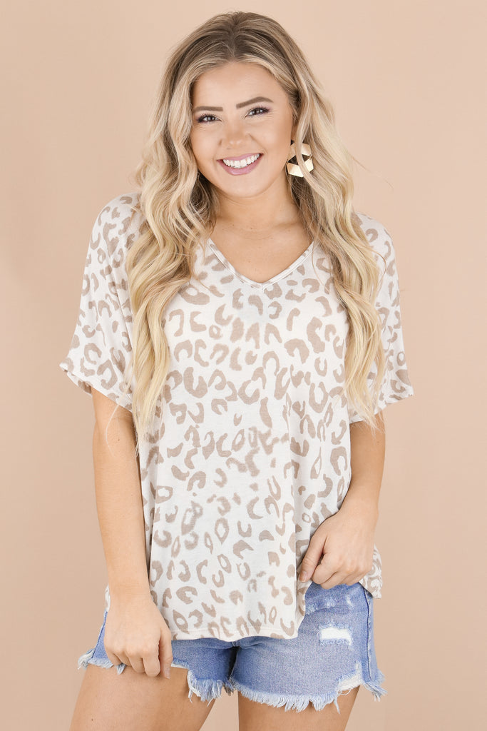 RESTOCK: Easy To Assist Leopard Top