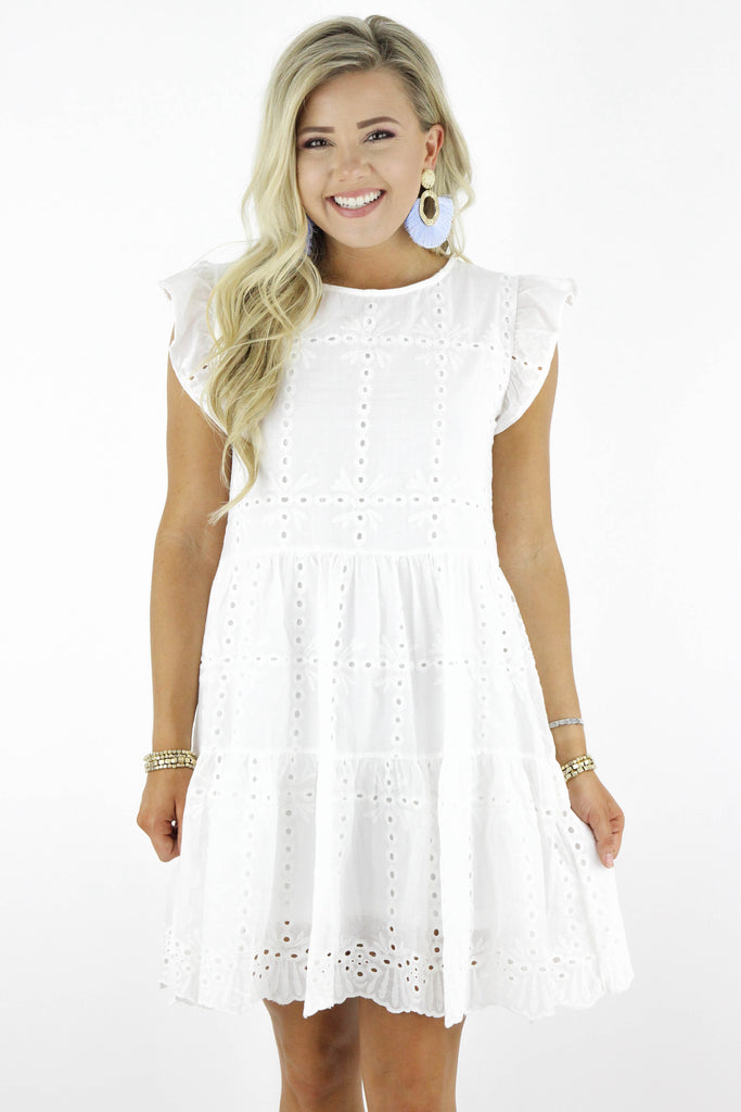 Summertime Called Eyelet Dress
