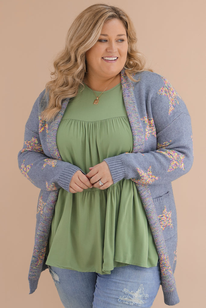 CURVY: Moments Like This Cardigan