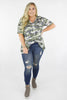 CURVY: Running For You Camouflage Top