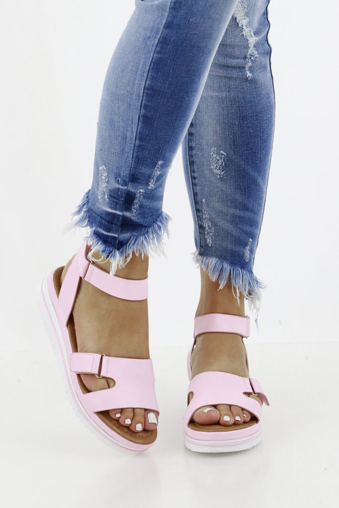 The Need For Spring Platform Sandals