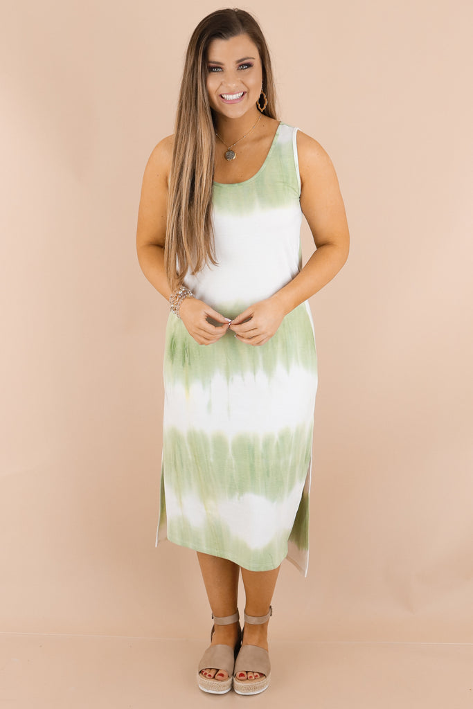 Follow The Leader Tie Dye Dress