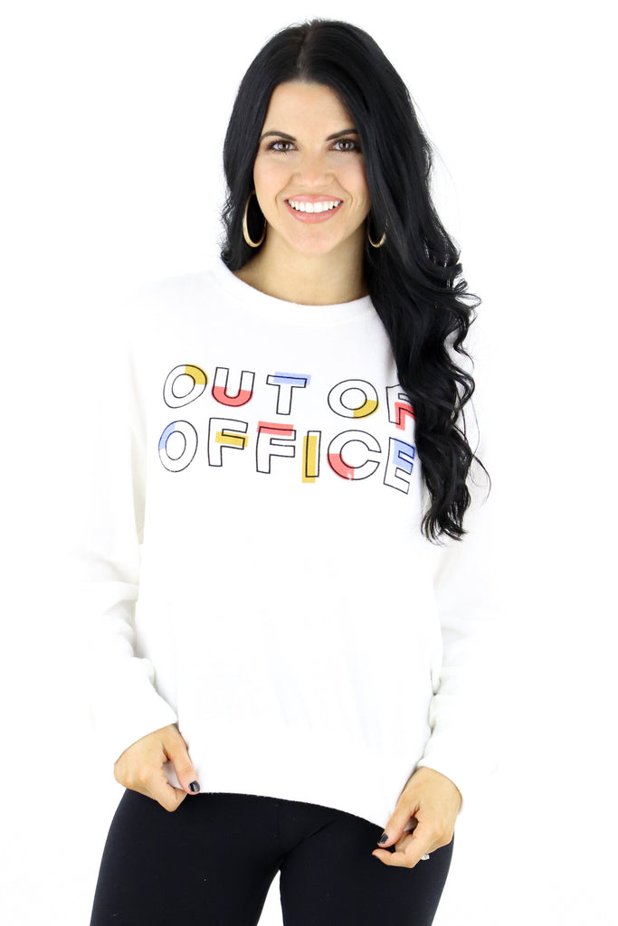 Out Of Office Graphic Top
