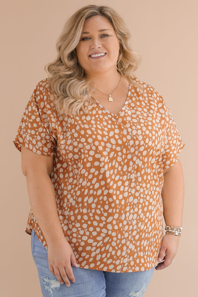 CURVY: Lavish Outings Blouse