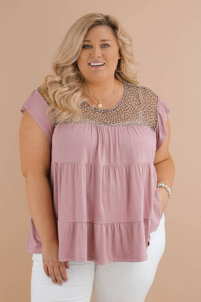 CURVY: Tally The Compliments Top