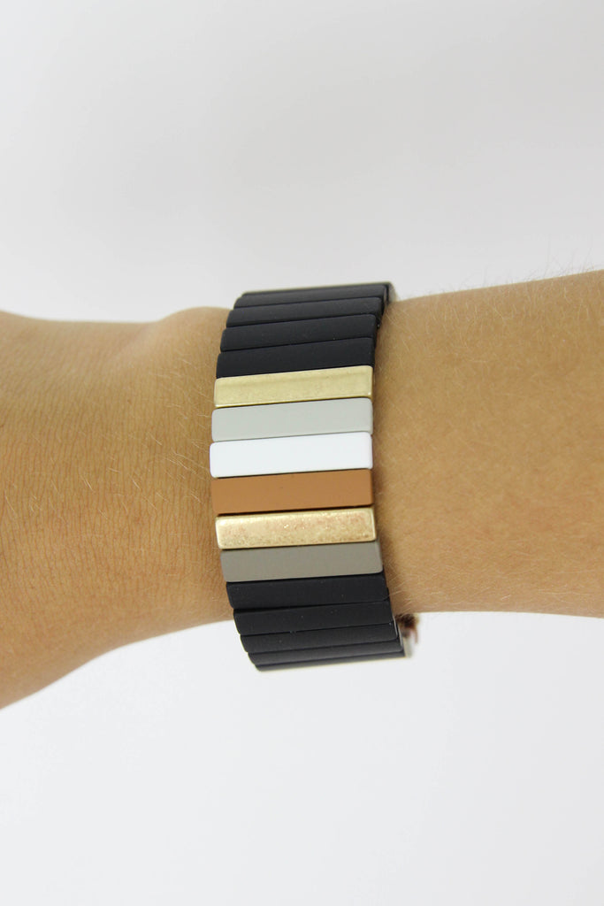 25MM Color Block Bracelet