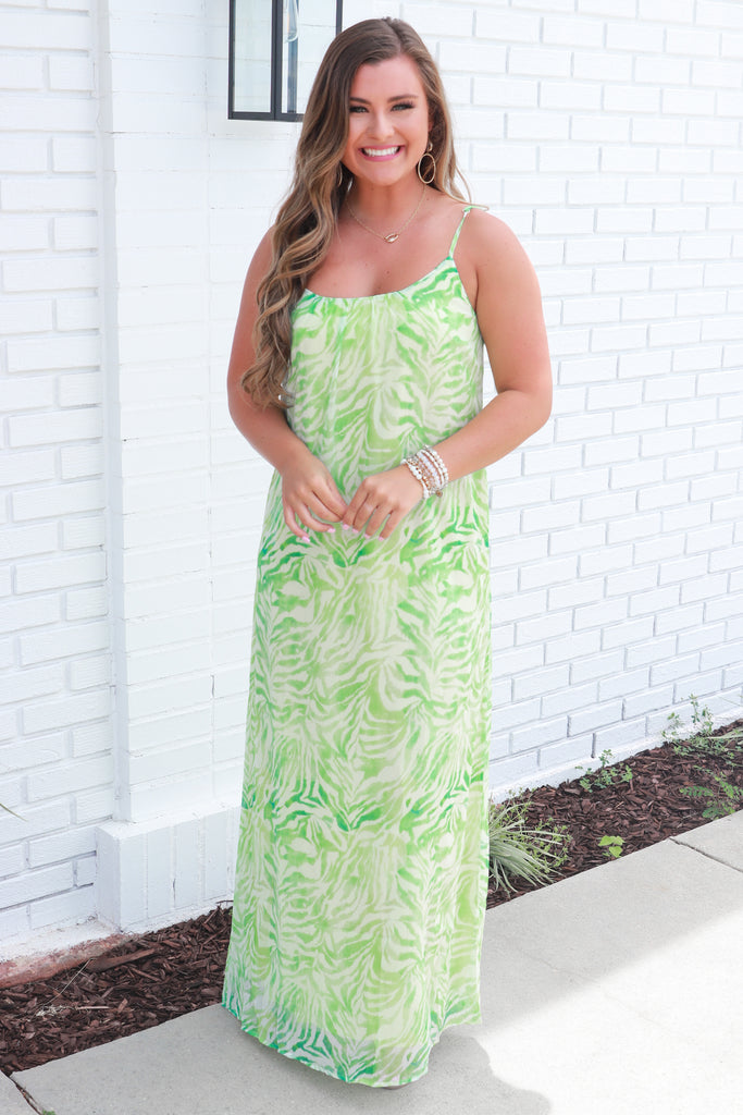 Vacay To Paradise Maxi Dress