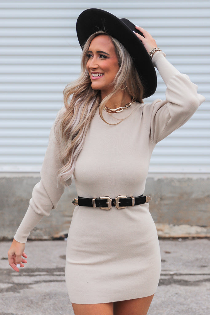 We've Got Each Other Bodycon Sweater Dress