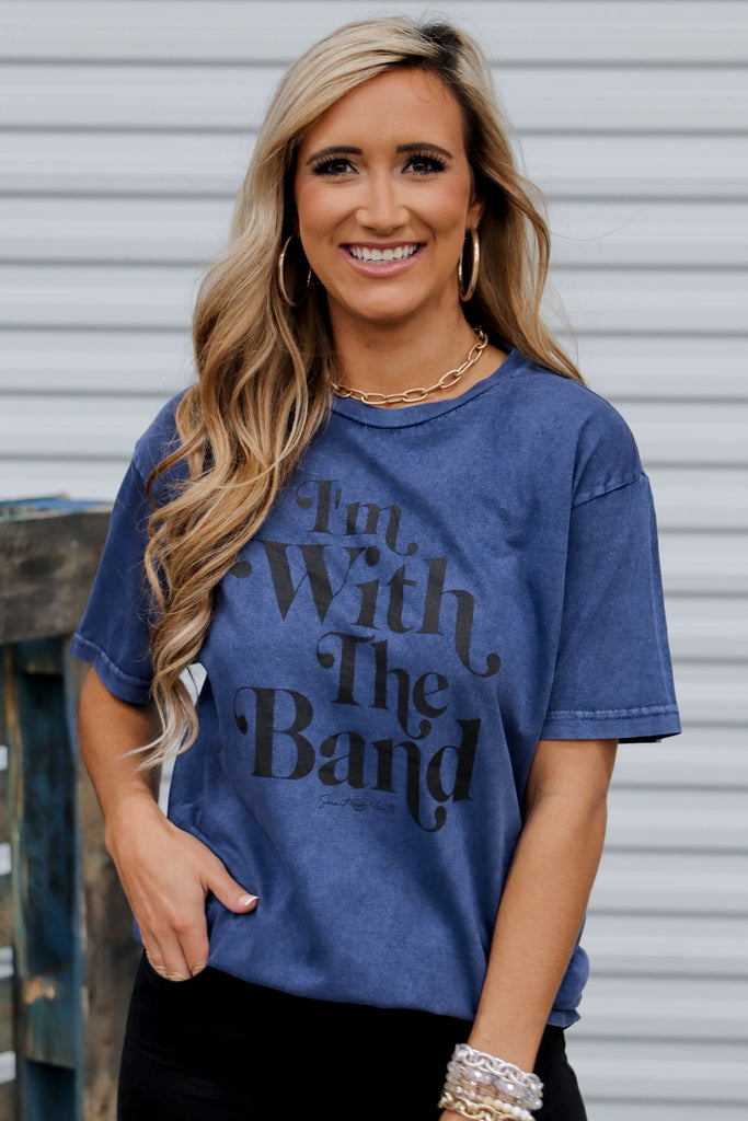 I'm With The Band Graphic Tee