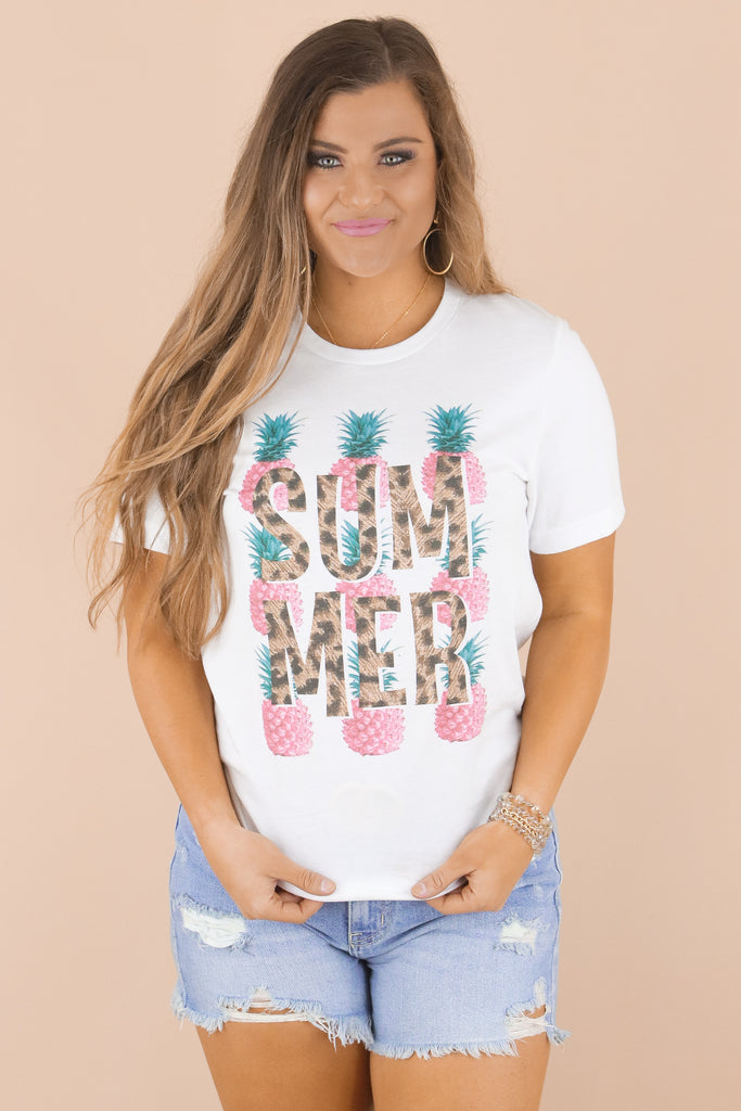 Pineapple Summer Graphic Top