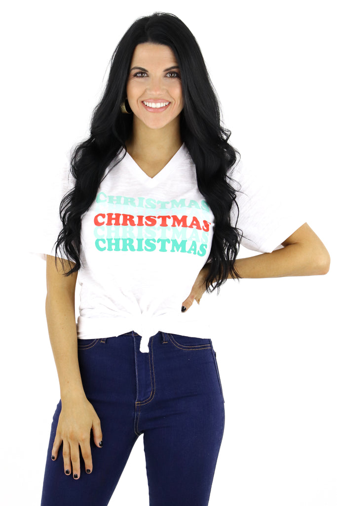 Christmas Spirit Graphic Tee
