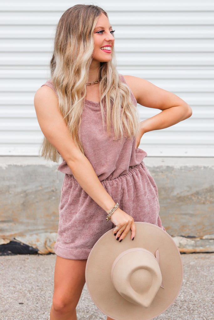 Leisurely Lounging Romper